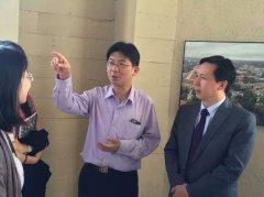 魏跃院长访问美国斯坦福大学